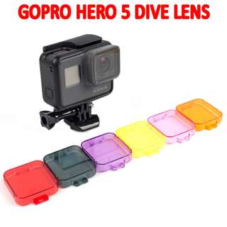 TGP078 Underwater Dive Red Filter Lens for Go Pro hero 5