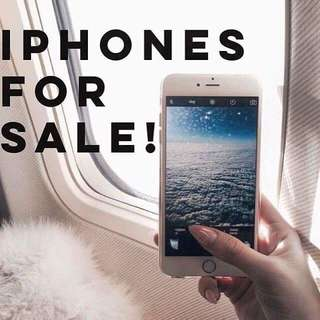 Iphones for sale!