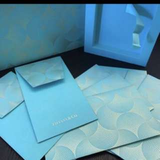 💌2017 Tiffany & Co (Branded) Festival Packets / Angpao / Red Packets/ Cny Packets / Raya Packets