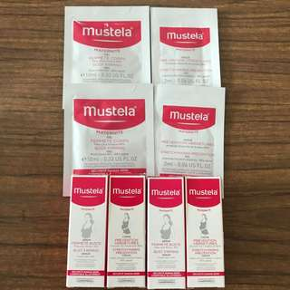 Brand New Mustela Stretch Marks Cream and Bust Firming Serum