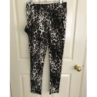 Small Ace fashion leopard print pants