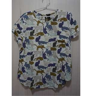 H&M Cat Top