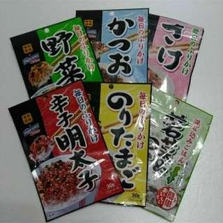 日本香鬆 六包