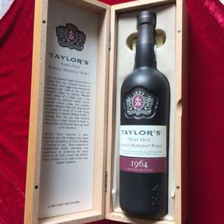 Taylor's Very Old Single Harvest Port