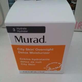 Murad City Skin Overnight Detox Moisturizer Worth $146