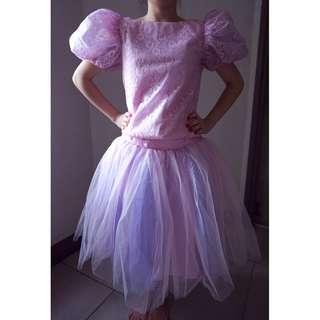 Pink Vintage Gown
