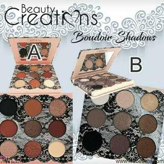 Beauty creations cosmetics boudoir eyeshadow palette