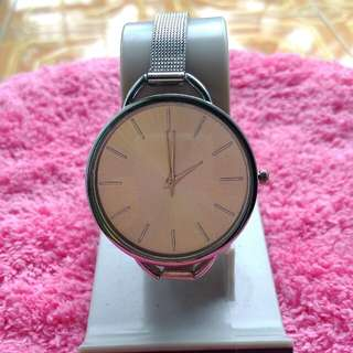 Jam tangan silver