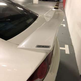 Honda Civic Mugen spoiler