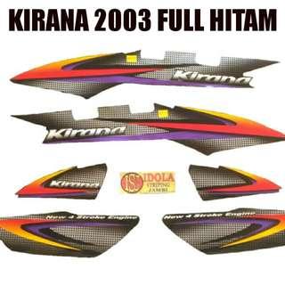Striping Kirana 2003 Full Hitam