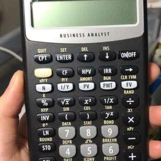 BA II Texas Instruments Financial Calculator