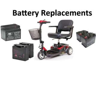 Mobility Scooter Battery Replacement