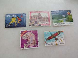 Malaysia Stamps Lot of 5 #106