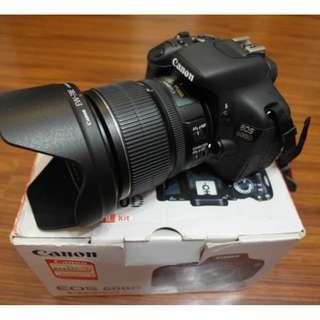 【出售】Canon 600D 數位單眼相機 盒裝完整