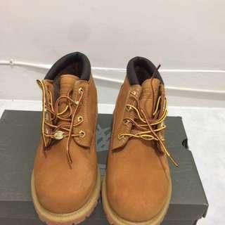 Timberland 黃靴/短靴/us7/24cm/23396