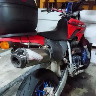 Legal WRP Exhaust for XR400 (with cert)