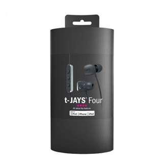 T Jays Four headphone 耳機