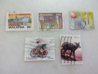 Malaysia Stamps Lot of 5 #109