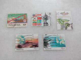 Malaysia Stamps Lot of 5 #110