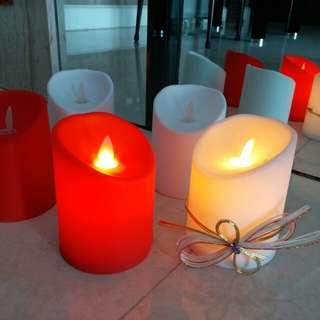 浪漫 搖晃 蠟燭燈