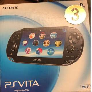全新 未開封 Sony PS Vita 一部