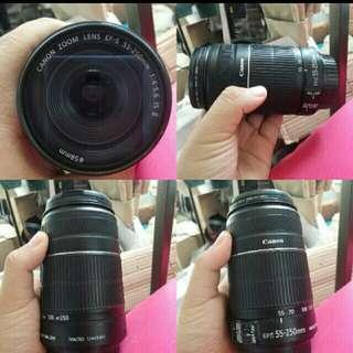 Canon Eos Lens 55-250