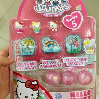 Hello Kity Squinkies - Series 5