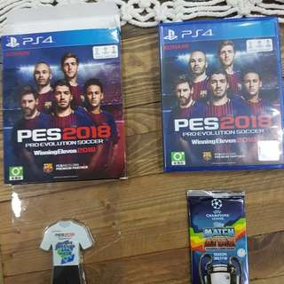 WTS PS4 Games - Street Fighter V R3, Need For Speed R2, PES Winning Eleven 2018 R3
