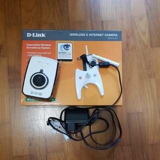 DCS-2121 Wireless G Internet Camera