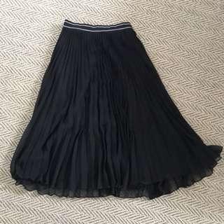 Topshop pleats skirt
