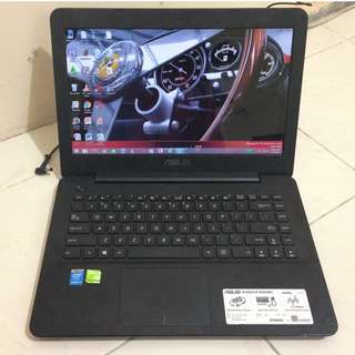 Laptop Asus A455LD Corei3 Ram 2GB Hdd 500GB Nvidia GeForce 820M 2GB