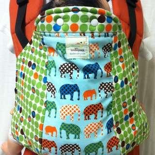 Kinderpack urban elephant dots inf/std