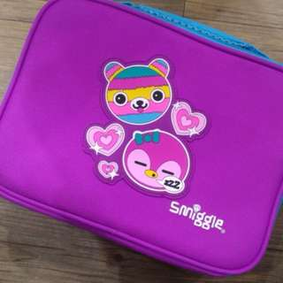 Smiggle Says Square Lunchbox