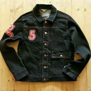 Jaket jeans anak Pim ponette  8 - 10 tahun (L) LD 47cm Panjang 53cm  65ribu  Sapa cepat dia dapat😍