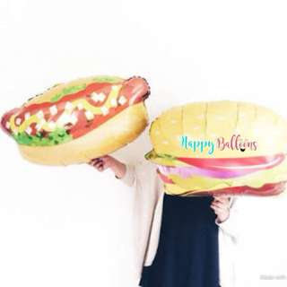 2.5ft Hotdog Snadwich / Burger Balloon sold separately