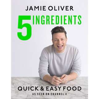 Jamie Oliver: 5 Ingredients Cookbook