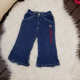 Peter Rabbit Jeans (3y/o)