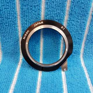 Nikon K1 extension ring