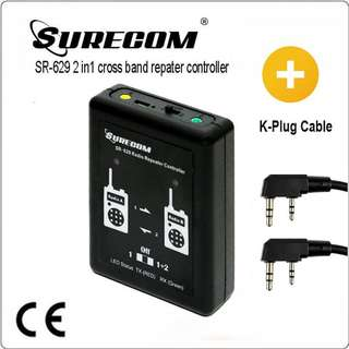 SR-629 2 in 1 Duplex Repeater Controller with Kenwood UV5R DM5R cable