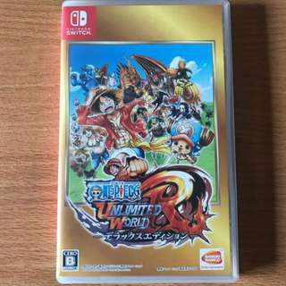 Nintendo Switch Japanese One Piece Unlimited World R