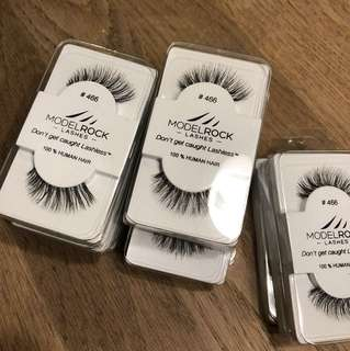 Model Rock Lashes #466 - 15 pcs