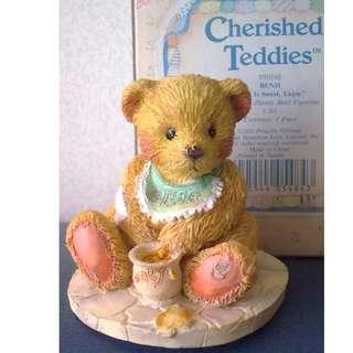 "1991 Cherished Teddies-Benji ""Life Is Sweet,Enjoy"""
