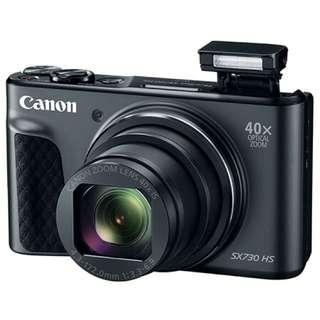 CanonPowerShot SX730 HS Digital Camera (Black)