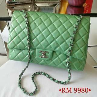 💚Chanel Maxi Jumbo Double Flap💚