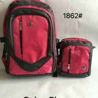 2 IN 1 BACKPACK SET CL83 16 inches