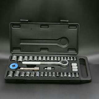 40 Pcs Professional Socket Set