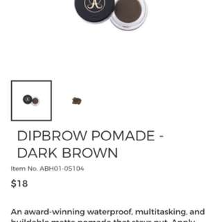 Anastasia Beverly Hills dipbrow pomade dark brown