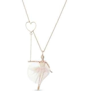 $920 包郵 included local postage TED BAKER Bevlee ballerina pendant necklace Valentine's Day Chinese New Year,birthday,Anniversary gift  情人節新年生日週年禮物