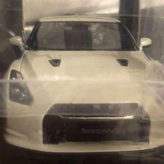 1:18 autoart 日產Nissan GTR 白色 日本廠盒版