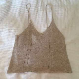 Soft knit cami